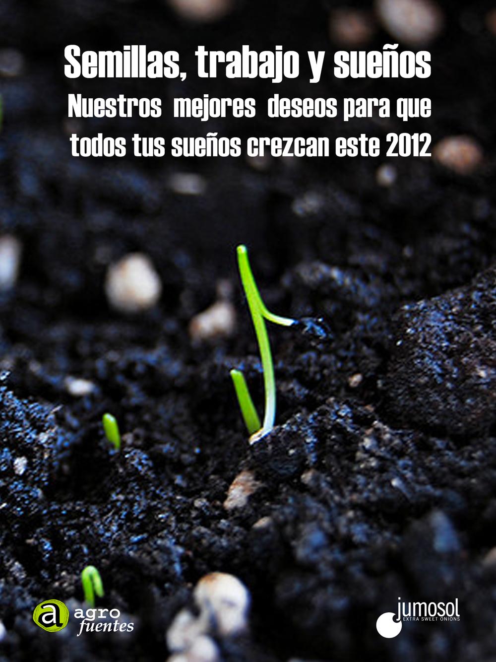 Feliz Navidad y feliz 2012, semillas, trabajo y sueños