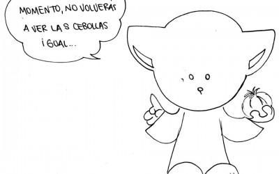 El gato Cebolla, un personaje de cómic